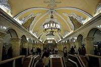 Moskou Metro Djoser Family Transsiberie Express