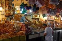 Marrakech Lokale Markt Marokko Djoser
