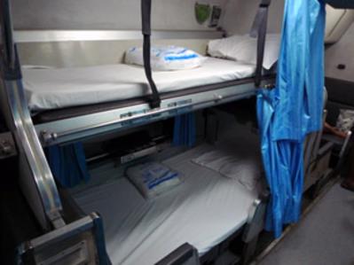 Slaaptrein bed Chiang Mai Thailand Djoser