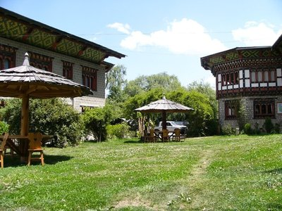 Bhutan hotel accommodatie overnachting Djoser