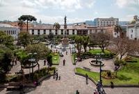 Historisch centrum Quito Ecuador