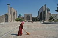 Samarkant Plein Zijderoute rondreis Djoser