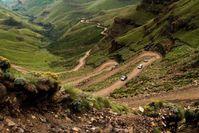 Zuid Afrika Sani Pass naar Lesotho Djoser
