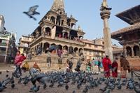 Hindoetempel Bhaktapur Nepal Djoser