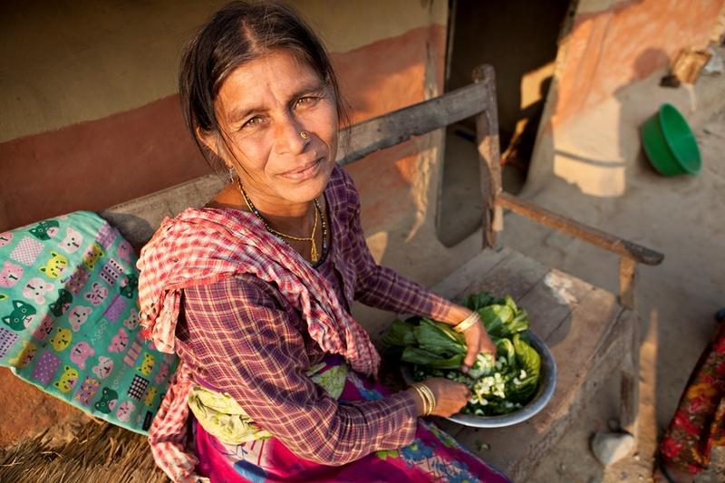 6 Vrouw Nepal