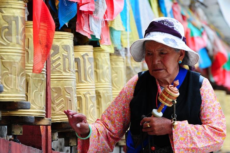 39 Gebed Tibet