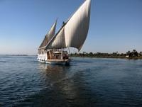 Egypte Dahabiya schip nijl Djoser