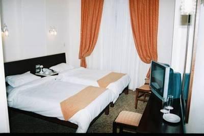 Egypte hotel accommodatie hotelkamer Djoser