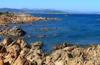 Kust Sardinie Fietsen Italie