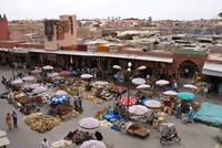 Marrakech soek Wandelvakantie Djoser