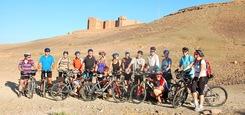 Fietsgroep Marokko