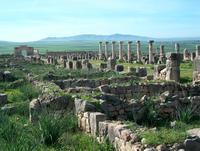Volubilis ruines Marokko