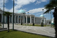 Iran Turkmenistan Oezbekistan Ashgabat Turkmenbashi Djoser