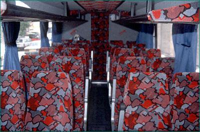 Bus jordanie vervoersmiddel airconditioning Djoser