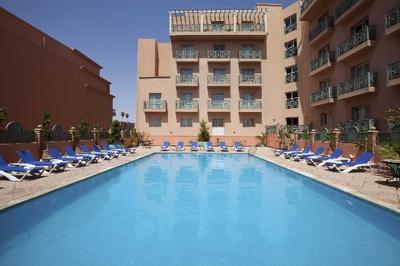 Marokko hotel zwembad Djoser