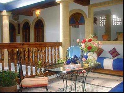 Marokko accommodatie hotel lobby djoser