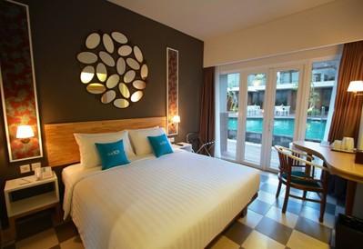 Hotelkamer Denpasar Indonesië Djoser