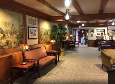 Verenigde staten hotel lobby accommodatie Djoser