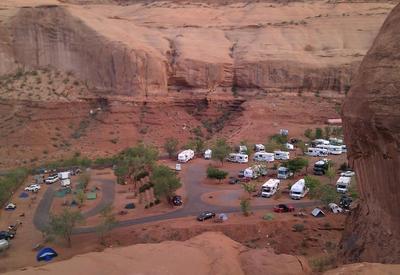 Verenigde staten Nationaal park overnachting Djoser