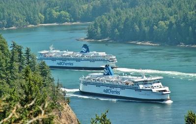 Canada boot vervoersmiddel Ferry Djoser