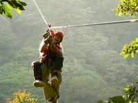 Costa Rica canopy kabelbaan Djoser