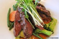 Kangaroo Biefstuk Australische eten (internet)