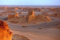Dasht-e-Lutwoestijn Iran (iternet)