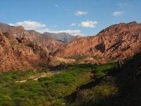 Quebrada de las Conchas Schelpenkloof Argentinië