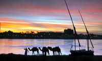 Egypte Kom Ombo Felucca Djoser