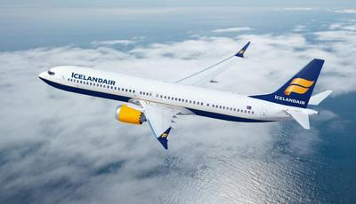 Vlucht IceLand Air vervoer Alaska Djoser
