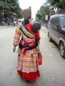 Mai Chau Vietnam vrouw met kind Groepsreis
