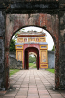 Hue Poort Vietnam Verboden Stad Groepsreis