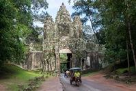 Poort Angkor Wat Cambodja