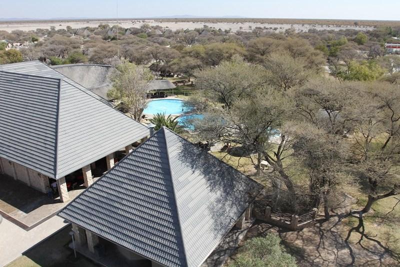 Etosha nationaal park - Namutoni restcamp