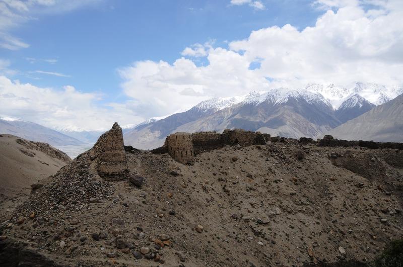 Fort van de vuuraanbidders - Tadzjikistan