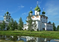 fietsreis Rusland Klooster Novgorod Djoser
