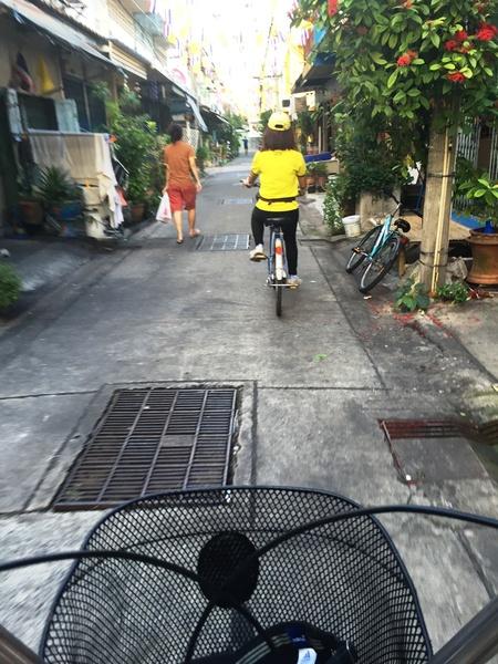 Bangkok fietstocht (optioneel)