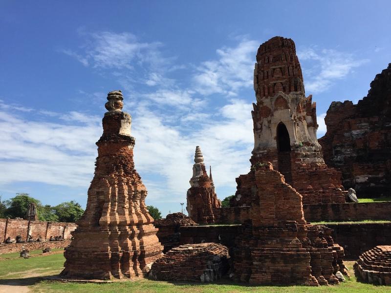 Ayutthaya tempels