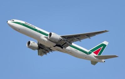 Alitalie Vliegtuig