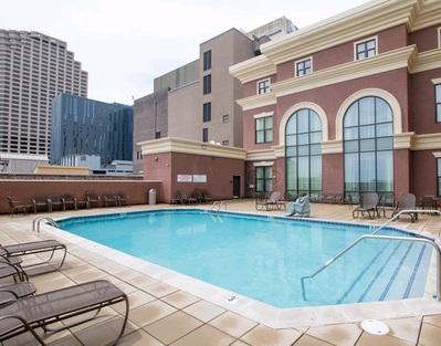Verenigde staten Hotel accommodatie zwembad Djoser