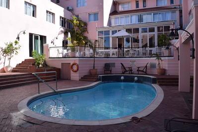 Zuid-Afrika hotel accommodatie overnachting zwembad Djoser