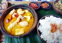 Balinees eten Indonesië