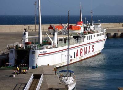 Kaapverdië djoser boot overnachting