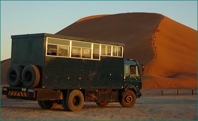 Zuid afrika, Botswana Namibie en victoriawatervallen Djoser vervoer Truck