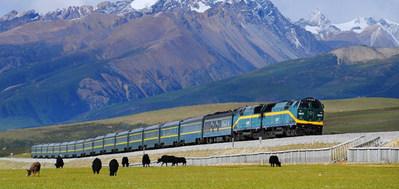 China en tibet rondreis trein vervoersmiddel Djoser