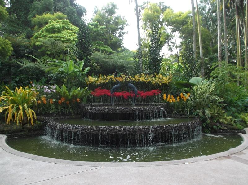Singapore - Botanische tuin