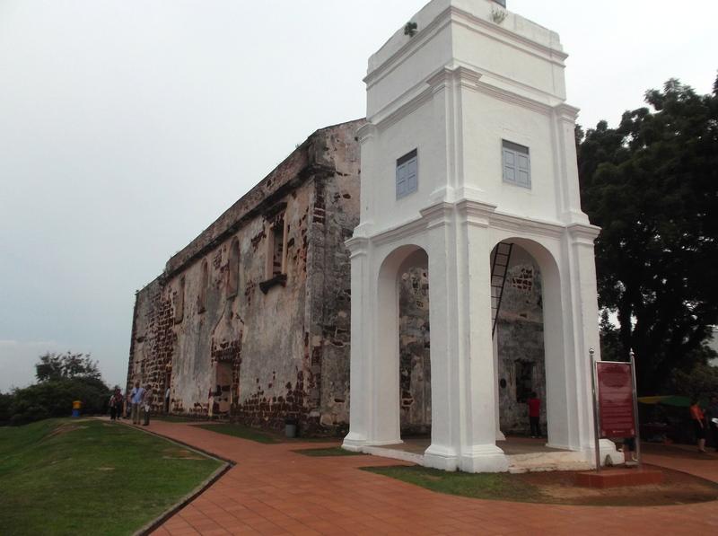 Malakka - St. Paul's Kerk