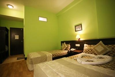 Djoser Nepal Hotel Lumbini Kamer Ananda Inn overnachting accommodatie