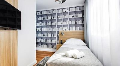 Hotel Smart eenpersoons kamer Gdansk Polen
