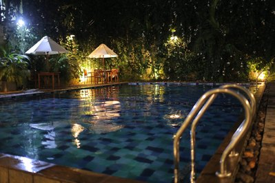 Sri Lanka hotel accommodatie overnachting zwembad Djoser